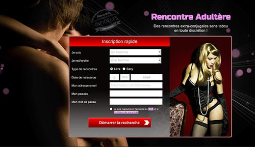 rencontre adultere