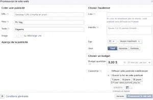 facebook pub page