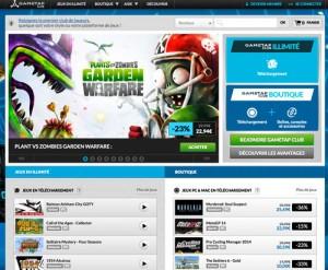 gametap club jeux video
