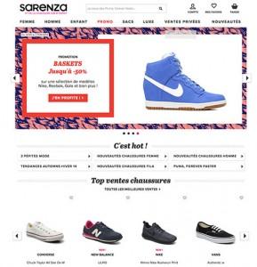 chaussures marque sarenza