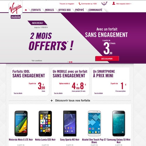 virgin mobile promo