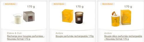 esteban bougies parfumees