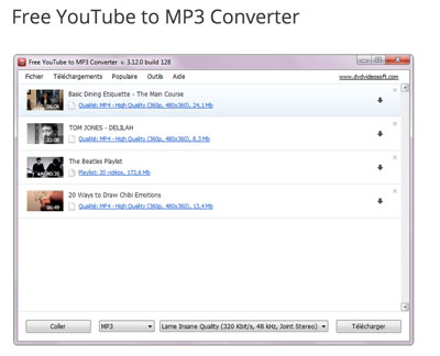 converteur youtube mp3 gratuit